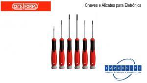 Chaves e Alicates para Electónica