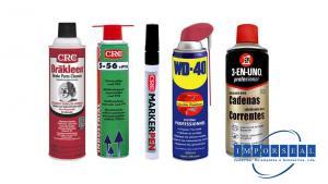 Sprays e Marcadores